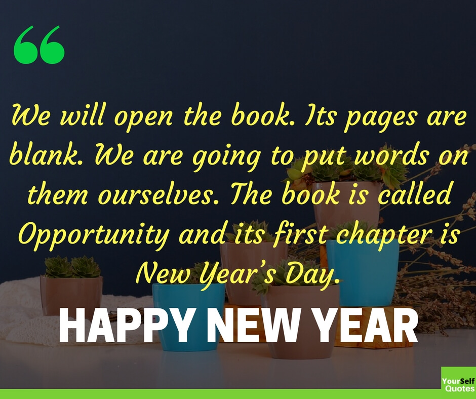 Happy New Year 2020 Quotes and Sayings